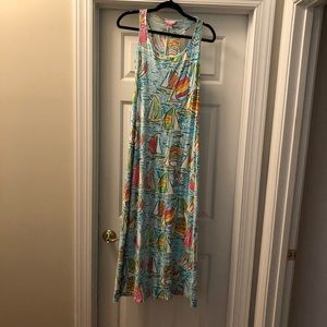 🎈SOLD🎈Lilly Pulitzer Maxi Dress
